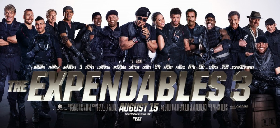 The Expendables 3 (2014) – Back in action again