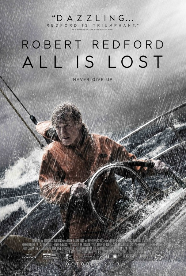 All Is Lost (2013) – A man against the elements