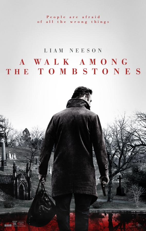 A Walk Among the Tombstones (2014) – A grim but satisfying outing
