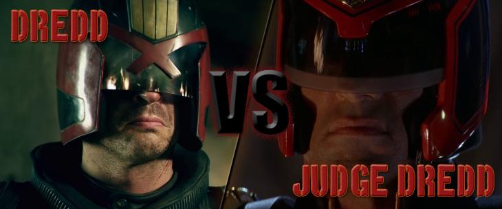 Dredd vs Judge Dredd